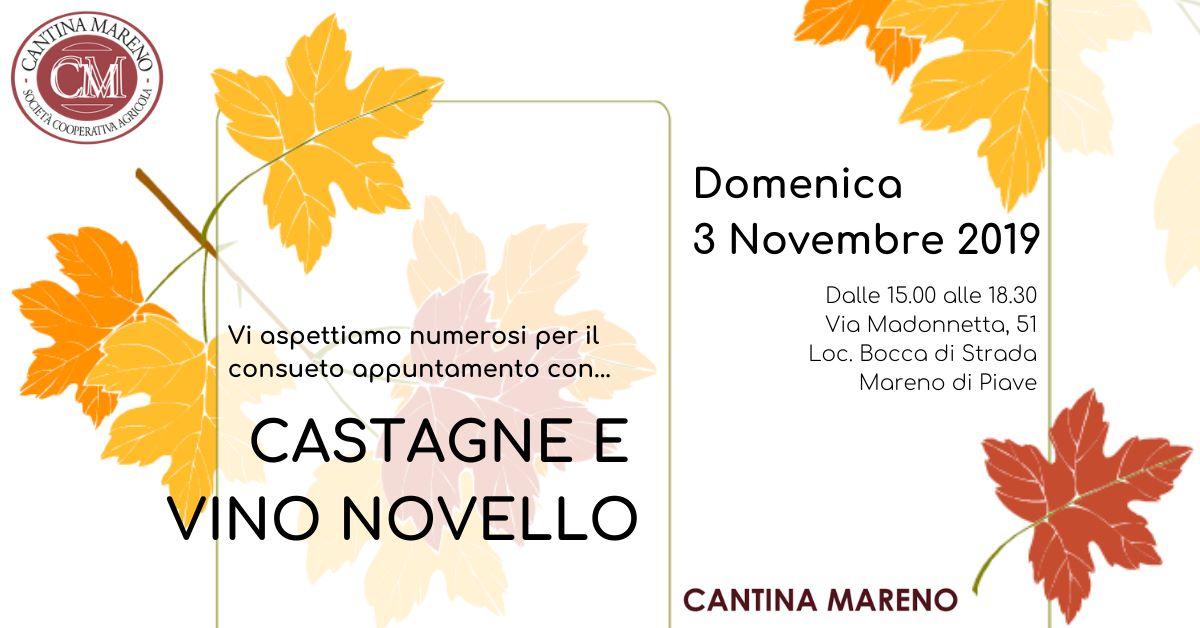 Castagne e Vino Novello 2019
